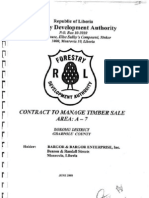 Contract to Manage Timber Sale, Area