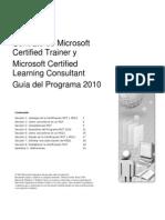 MCT MCLC Program Guide 2010 Spanish