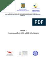 Suport de Curs - Modulul 1 Management