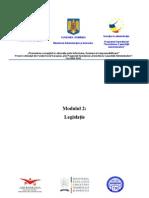 Suport de Curs - Modulul 2 Legislatie