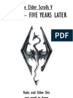 The Elder Scrolls v - Skyrim - Five Years Later