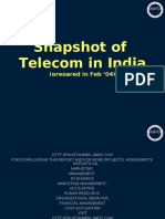 17-Snapshot of Telecom in India