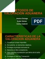 métodos de valoración aduanera-valoración aduanera