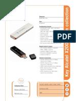 Key Alcatel X200 Design Collection