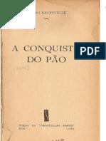 A CONQUISTA DO PÃO - PIOTR KROPOTKIN