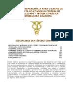 Apostila - Contabilidade Exame Crc 2013
