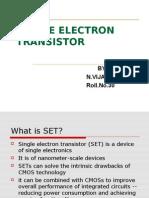 Single Electron Transistor