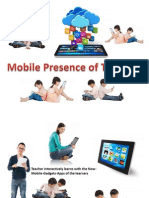 Teacher of Mobile Presence