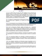 Ley No. 456-73, Establece Que Los Almacenes de Deposito Fiscal, Los Cuales Funcionan Bajo La Vigilancia y Control de La DGA