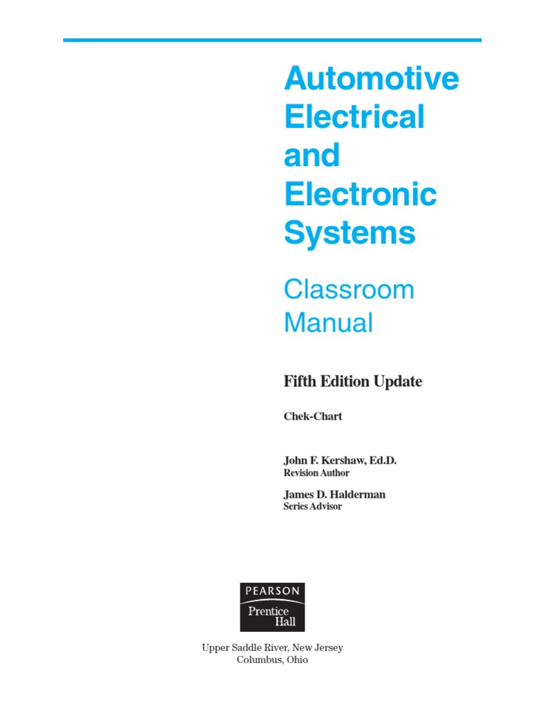 79416096 Automotive Electrical And Electronic Systems 5e Screw Network Wiring Diagram For Classroom Nut Hardware