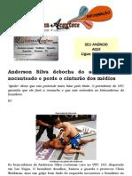 Anderson Silva debocha do adversário, é nocauteado e perde o cinturão dos médios