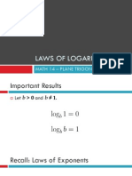 Laws of Logarithm