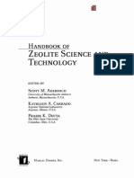 Hand Book of Zeolite Science and Technology