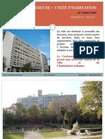 128099421 UNIITE D HABITATION Le Corbusier Exemple d Approche Par Points de Vue