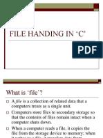 15779 File Handing