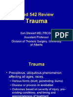 Surgery 542 Trauma