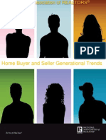 2013 Nar Home Buyer & Seller Generational Trends