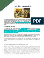 Storia Della Guerra Civile Spagnola