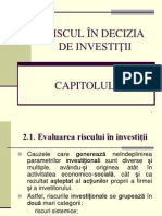 CAPITOLUL 2 - Riscul in Decizia de Investitii_2013