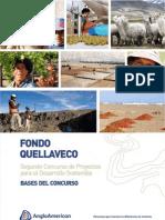 Bases Fondo Quellaveco 2012