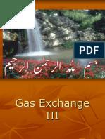 Gas Exchange III