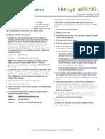 Exchange Outlook 2007 Setup
