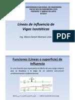 Lineas de Influencia_Vigas Isostaticas
