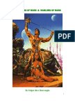 A Princess of Mars & Warlord of Mars, by Edgar Rice Burroughs