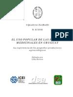 Uso Popular de Plantas Medicinales en Uruguay
