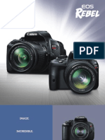 EOS Rebel T5i SL1-Brochure