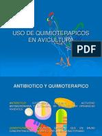 Uso de Quimioterapicos en Avicultura