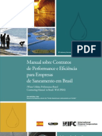 Manual sobre Contratos de Performance e Eficiência para Empresas de Saneamento em Brasil