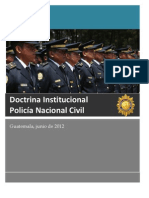 DOCTRINA INSTITUCIONAL PNC 13.06.12