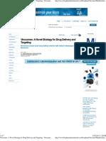 A Novel Strategy for Drug Delivery and Targeting - Virosomes Present Novel Drug-Delivery Vehicles With Distinct Advantages Over Liposomes. - BioPharm International