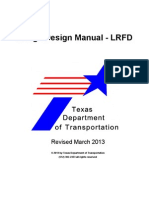 Bridge Desing Manual Lrfd Texas