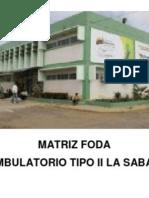 APLICACION DE MATRIZ F.O.D.A