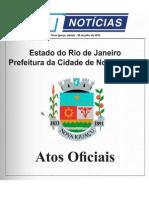 diario oficial de nova iguaçu . 6 de julho de 2013