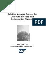 SAP Outbound process with cartonization