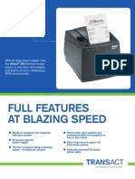 Ithaca iTherm 280 Thermal Receipt Printer Brochure
