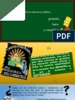 MANUAL POR UNA EDUCACIàN PéBLICA, GRATUITA, LAICA_ CIENTÖFICA, LIBRE DE FANATISMOS Y SERVIDUMBRES.pptx