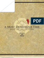 A Most Dangerous Time Rulebook (MMP)