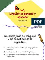 Esquemas de Linguistica General y Aplicada