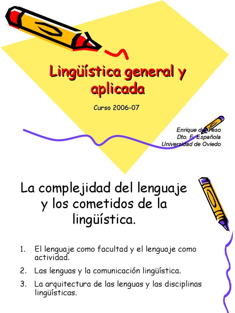 Esquemas De Linguistica General Y Aplicada Adquisición