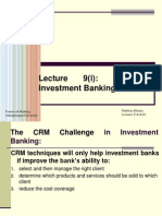 CRM in Investment Banking