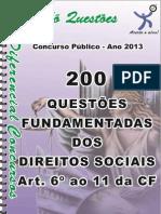 1725_DOS DIREITOS SOCIAIS - Art.  6º ao 11 da CF - apostila amostra