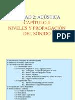 Unidad 2 Acustica - Capitulo 4 Niveles y Propagacion Del Sonido