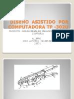 DISEÑO  ASISTIDO  POR COMPUTADORA TP -302U