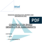 Construction Risk Assessment