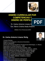 AAA - PRESENTACIÓN 1ER Y 2DO DÍA - CURSO DISEÑO CURRICULAR Y DISEÑO DE PERFILES - UNALM (16 y 17
