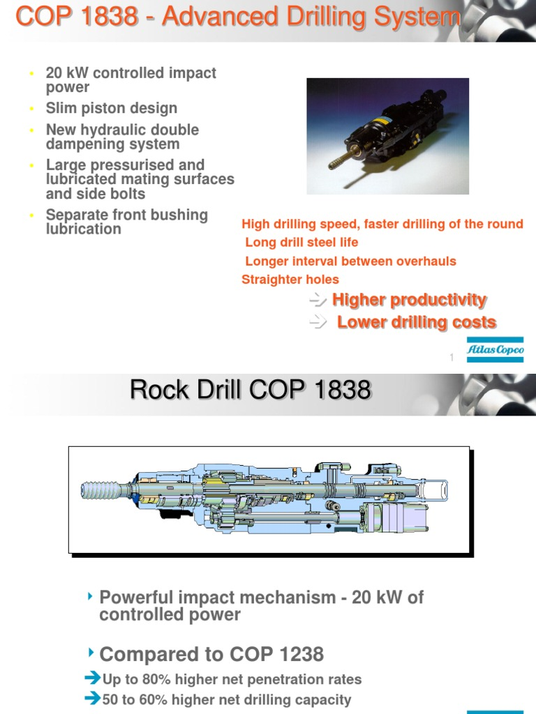 cop 1838 and system features drill drilling rh scribd com